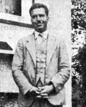 Charlie Crane pictured in The Ubyssey