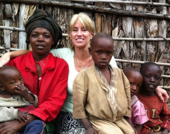 Judy McLean has been going to Rwanda since 2006.