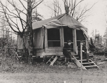 One of the university's earliest constructions at Point Grey.