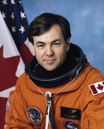 UBC alumnus Bjarni Tryggvason, BASc'72, was selected to be one of Canada's first six astronauts in 1983. (Credit: NASA)