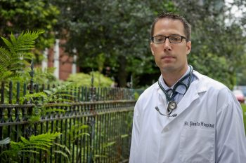Evan Wood is a Canada Research Chair in Inner City Medicine and leads the BC Centre on Substance Use.
