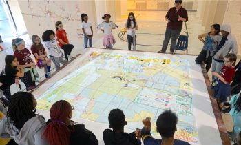 The St. Louis Map Room project involved participants hand‑drawing maps of their neighbourhoods from their perspectives as residents.