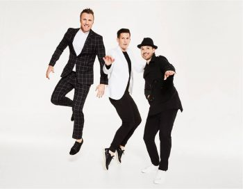 The Tenors are (L-R) Fraser Walters, Clifton Murray and Victor Micallef. (Photo: Dan Lim)