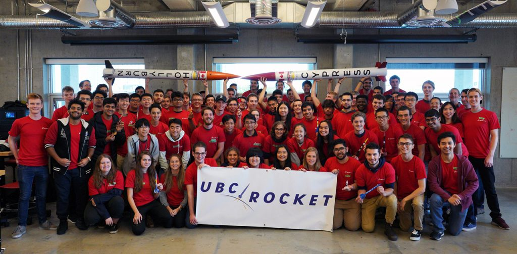 The UBC Rocket membership is diverse, but the common denominator is a willingness to work and learn.